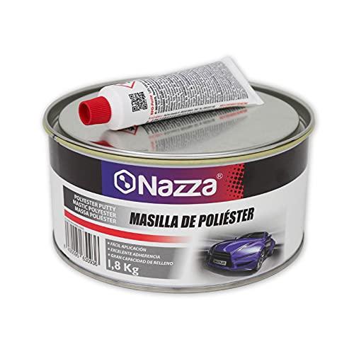 Masilla de Poliéster Nazza para Carrocería con Catalizador - 1,8 KG