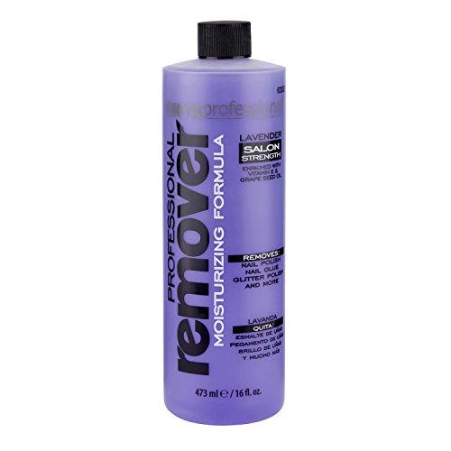 Onyx Professional Moisturizing Formula Nail Polish Remover Lavender Scented. 16oz