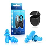 Gehörschutzstöpsel zum Schwimmen - 2 Paar Wasserdichter wiederverwendbarer...