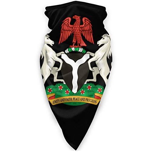 WlQshop emblème National du nigéria Cache-Cou Plus Chaud Coupe-Vent Couverture du Visage écharpe Couverture de Sports de Plein air