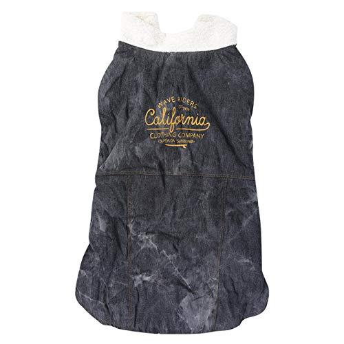 DAUERHAFT Ropa para Perros y Gatos Disfraz casero, Vestido para Perros Trajes Masculinos Hechos de Material de Alta(Black, 2XL)