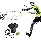 xlany tennis trainer rebounder, dispositivo per principianti tennis ginnico tennis formazione singolo con corda resistente all'usura materiali tennis training rimbalzo della sfera di tennis