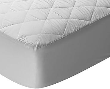 Pikolin Home - Protector de colchón/Cubre colchón acolchado, impermeable, antiácaros, 135x190/200cm-Cama 135 (Todas las medidas)