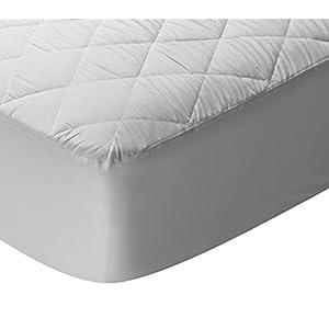 Pikolin Home – Protector/cubre colchón acolchado para cuna impermeable, transpirable, hipoalergénico y extra suave con…
