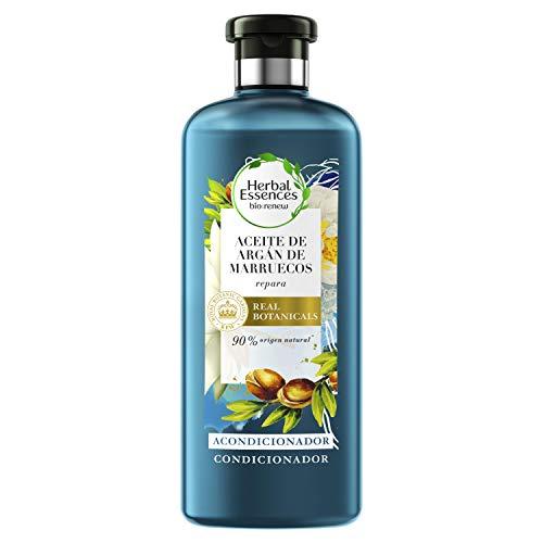 Herbal Essences bio:renew Acondicionador Reparación, Aceite de Argán de Marruecos 400ml, con ph neutro e ingredientes naturales