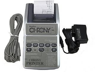 Chrony Ballistic Printer for Chronograph