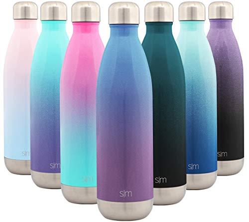 Simple Modern Wave Wasserflasche 25oz Wave Ombre: Gletscher-Regen