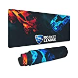 Rocket Car League Mouse Pad Gaming Mouse Mat Large Anti-Slip Rubber Base Keyboard Mousepad Office Home Mac Pc Laptop Computer 11.8X31.5in