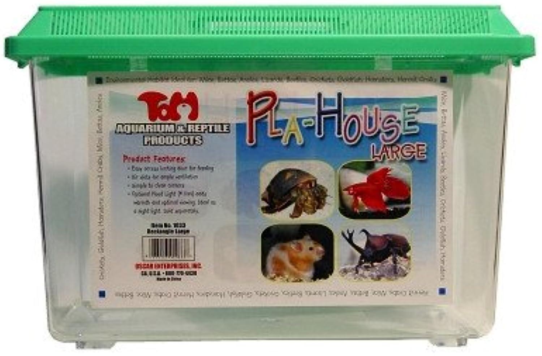 Rectangular Pla  house Habitat Large 14 X 8 X 9 h
