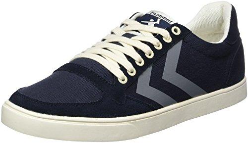 hummel Damen SL. Stadil Herringbone Low Sneaker, Blau (Ombre Blue), 36 EU