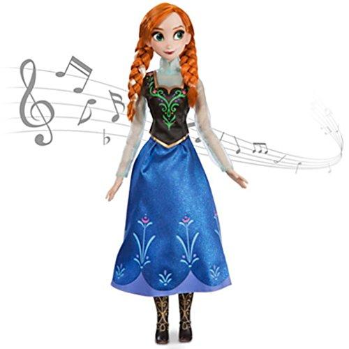 Disney Store - Anna aus 'Die Eiskönigin - völlig unverfroren' - Singende Puppe
