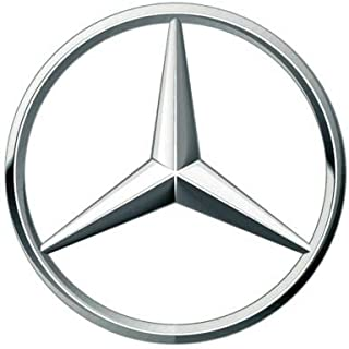 Mercedes-Benz Emblem USA in Made Vinyl Decal StickerCar Decal Bumper Sticker for Use on Laptops Windows Scrapbook Luggage Lockers Cars Trucks