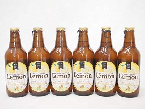 6本セット金しゃち 瀬戸内産レモン果汁使用 フルーツドラフトレモン (愛知県) 330ml×6本