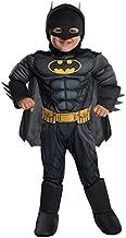 Rubie's DC Comics Toddler Deluxe Batman Costume, X-Small (510303), Black/Yellow