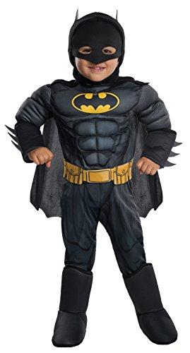 Rubie's DC Comics Toddler Deluxe Batman Costume, X-Small (510303)