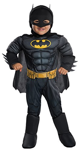 Rubie's Costume DC Comics Toddler Deluxe Batman Costume, X-Small,