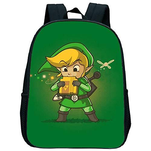 Fengu The Legend of Zelda - Zainetto da scuola con scritta 'The Legend of Zelda' [lingua inglese]
