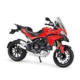 CYPP 1/12 para Ducati Multistrada 1200S Scale Motorbike Series Diecast Metal Motorcycle Model Colección Niños Juguete Regalo
