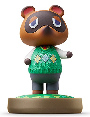 Amiibo Tanukiti / Tom Nook - Animal Crossing series Ver. [Wii U][Importación Japonesa]