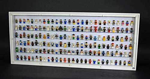 FiguCase Click System Vitrine 114 x 50 für 168 eure Lego® Figuren weiß weiß