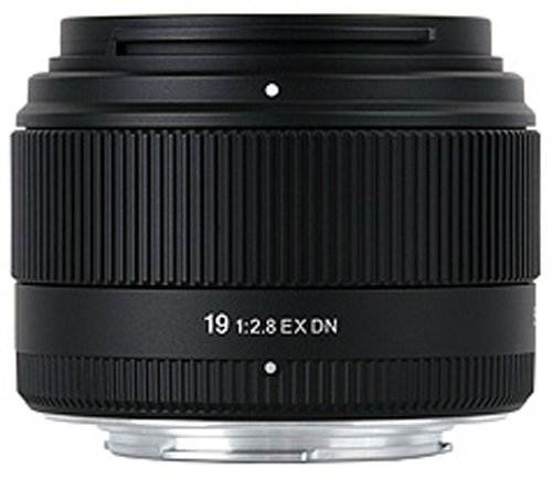 Sigma 19 mm F2,8 EX DN-Objektiv (46 mm Filtergewinde) für Sony-E Objektivbajonett