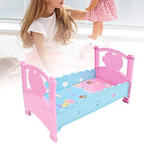 Giocattolo del Letto della Bambola, Simulazione Letto della Bambola Presepi Mini Princess Letto per Bambole Giochi per Bambini Cognitivo Giocattoli Compleanno Natale Regalo per Ragazze Ragazzi