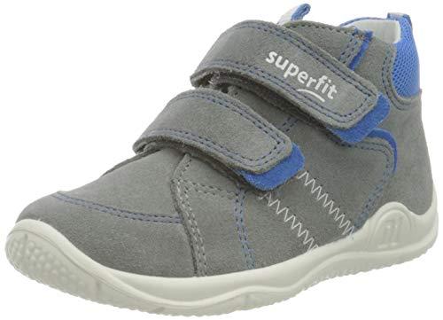 Superfit Baby Jungen Universe Sneaker, Grau (Hellgrau/Blau 25), 26 EU
