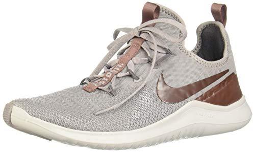 Nike Women's Free TR 8 LM Training Shoes (7.5, Grey/Mauve/MTLC)