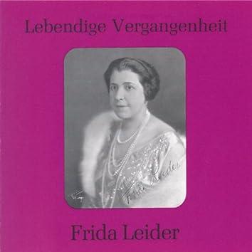 Lebendige Vergangenheit - Frida Leider