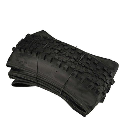 FISCHER Faltreifen 27, 5' MTB Neumáticos Plegables, Unisex Adulto, Negro, 27,5'