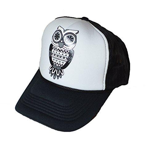 KGM Accessories Cool New Owl Logo Mesh Back Casquette camionneur