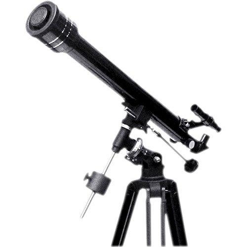 professional Vivitar Refracting Telescope-Black (VIV-TEL-60700)