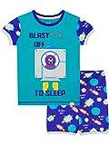 Harry Bear Pijama Corta para niños Cohete Azul 18-24 Meses