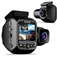 Rexing W202 Mini 2 Inch LCD Dual Dash Cam