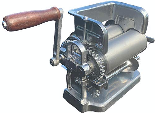 Mexican Generation-2 Larger (same size as Gonzalez) Made in Mexico Monarca Manual Flour or Corn Aluminum Tortilla Maker Roller Press Mold Molding Machine
