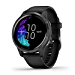Garmin Venu, GPS Smartwatch with Bright Touchscreen Display, Features Music, Body Energy Monitoring, Animated Workouts, Pulse Ox Sensor and More, Black, 010-N2173-11 (Renewed)