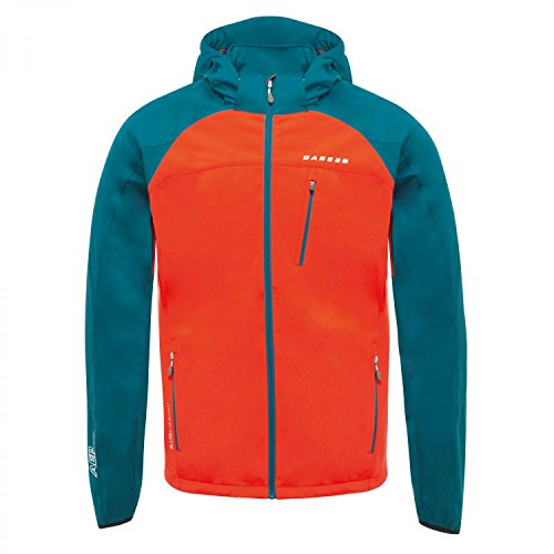 For Sale! Dare 2b Preclude Softshell Full Zip Waterproof Mens Sports Insulated Jacket