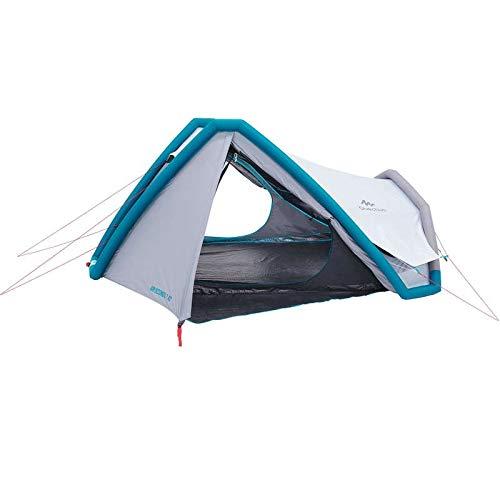 Quechua Campingzelt AIR Seconds 3 XL Fresh & Black 8384157 für 3 Personen in grau