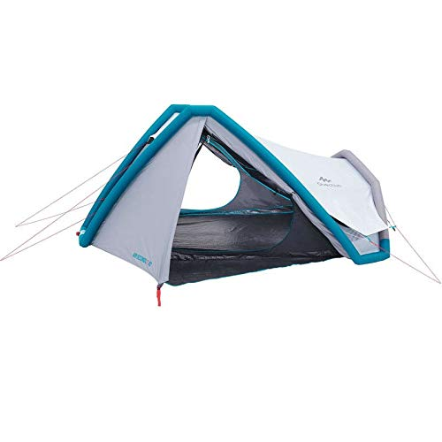 Quechua Campingzelt AIR Seconds 3 XL Fresh & Black 8384157 für 3 Personen in grau