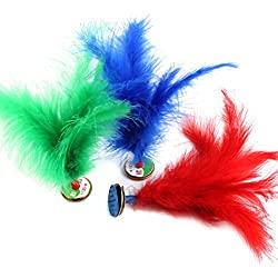Feather Chinese Jianzi Kicking Shuttlecock Foot Exercise Outdoor Game Random Color