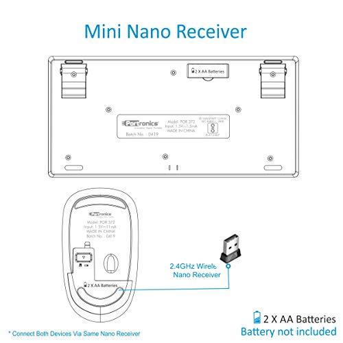Key2-A Portronics Wireless Keyboard and Mouse Combo