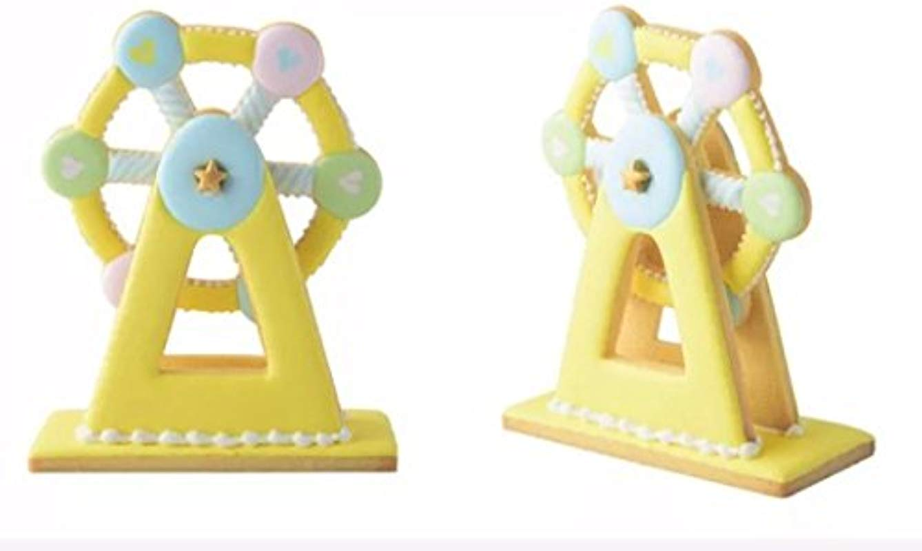 3D Ferris Wheel Cookie Cutter American Confections Set Of 3