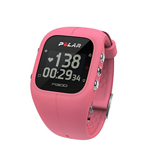 Polar A300 HearFt Rate Activity Tracker with HR, Black, One Size