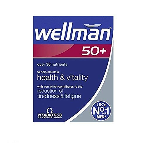 Vitabiotics | Wellman 50+ Tablets | 2 x 30s