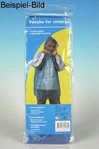 Fietsregenponcho, kinderponcho met capuchon geel (LHS)