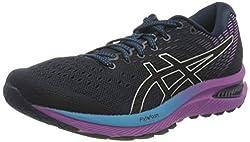 Asics Damen GEL-Cumulus 22 Road Running Shoe, French Blue/Black, 39 EU