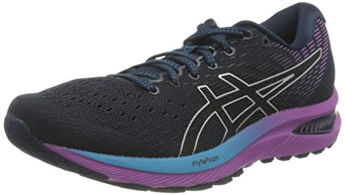 Asics Women's Gel-Cumulus 22 Running Shoe, French Blue/Black, UK 8.5