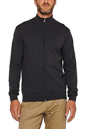 Esprit 999ee2i805 suéter, Gris (Anthracite 010), X-Large para Hombre