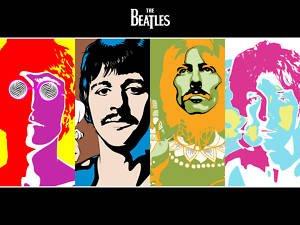 Kunstdruck auf Leinwand Beatles Kunstdruck auf Leinwand Wandbild 9/24–50,8x 76,2cm