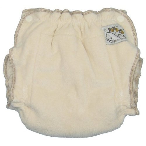 Mother-ease Sandy's Cloth Diaper (Newborn (6-12 lbs), Organic Cotton)